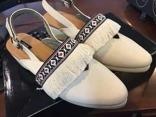 Amara white shoes