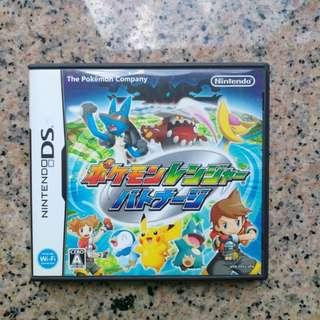 (中古)原裝日版Nintendo DS Game Pokemon 寵物小精靈比卡超保育家2