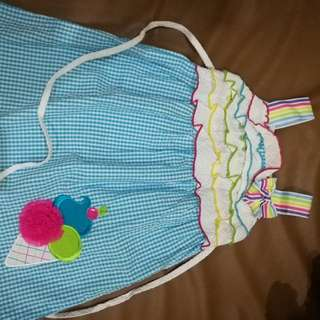 Ice cream dress - 2 to 3 yrs old