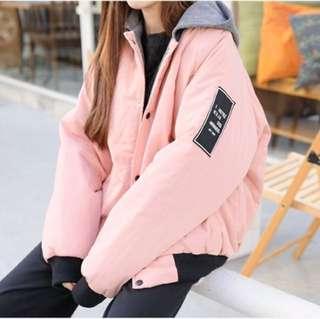 🚚 韓版粉色外套