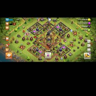 Clash of clans Max TH10 troops