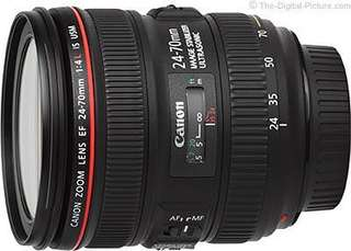 Canon EF 24-70mm f4L IS USM (used)