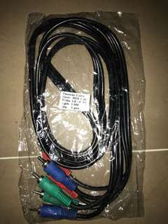 Rgb cable 1.8 meters
