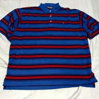 Ralph Lauren Polo Golf Blue Polo Shirt (XL)