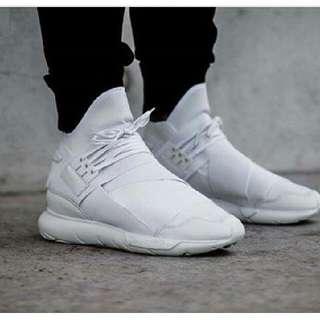 adidas Y3 qasa full white premium original 100%