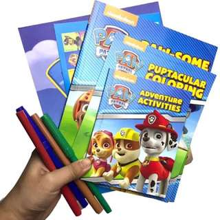 Activity Books on Paw Patrol
