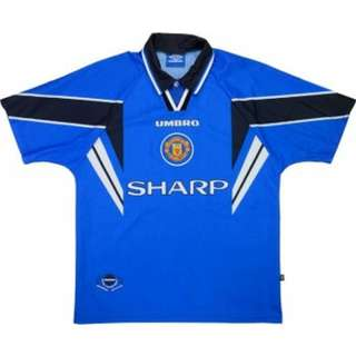 MANCHESTER UNITED ORIGINAL AUTHENTIC AWAY JERSEY 96/97