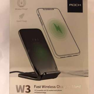 *特價*Rock W3 fast wireless charging stand 無線充電 托