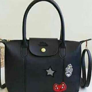 LONGCHAMP LEATHER BAGS (W/cutie patches)