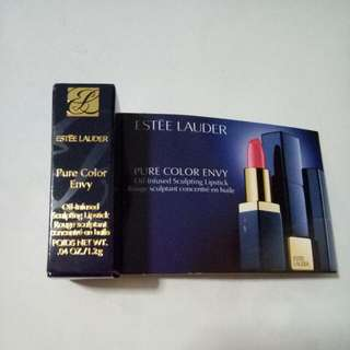 New Estee Lauder Pure Color Envy Oil Infused Sculpting Lipstick
