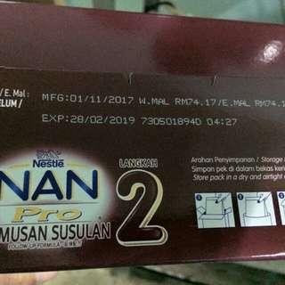 Susu Nan pro step 2