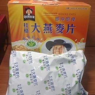 桂格即沖即食大燕麥片2600g /包