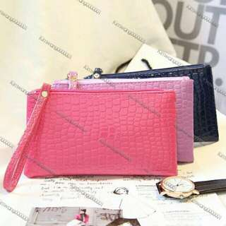 Fashion simple pouch and wallet