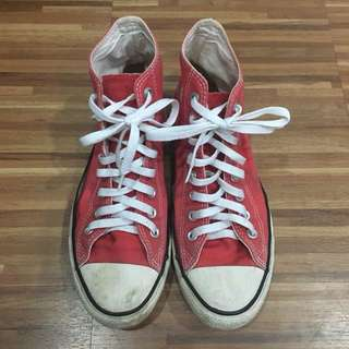 *CLEARANCE SALE* Converse Shoes (Red)