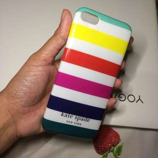Iphone 5c Kate Spade rainbow case