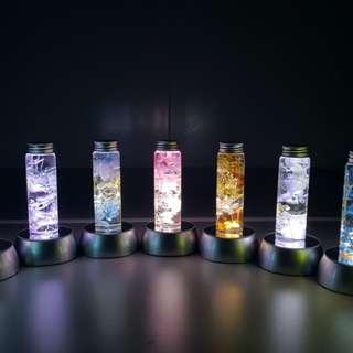 保鮮花-水中保鮮花(連Led燈座)