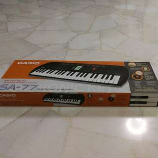 Casio Electronic Mini Keyboard SA-77