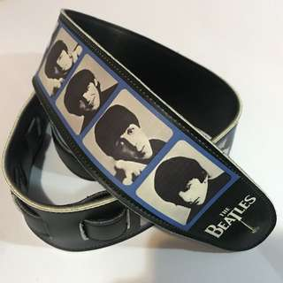 The Beatles Leather Guitar Strap (Planet Waves) 可調式結他肩帶