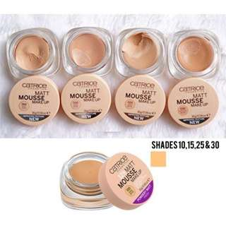 Catrice 12hr Matt mousse makeup