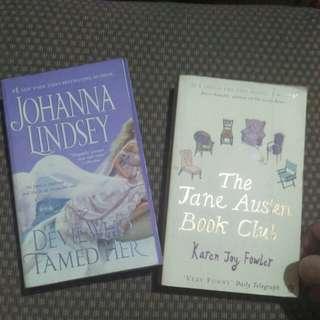 2-in-1 Novels Sale