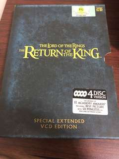 The lord of the ring: return of the king Vcd