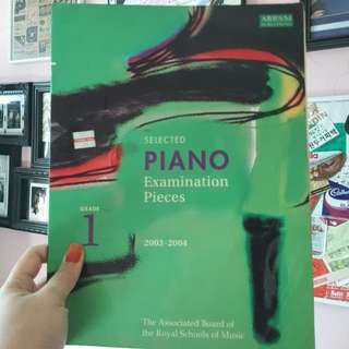 ABRSM selected Piano Examinations Pieces