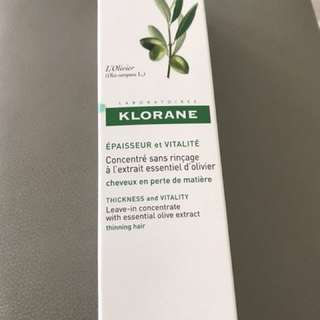 Klorane Leave In Concentrate Thinning Hair Loss Serum