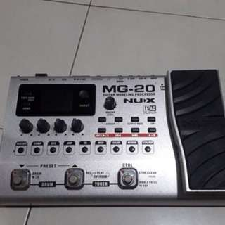 guitar multi effect pedal