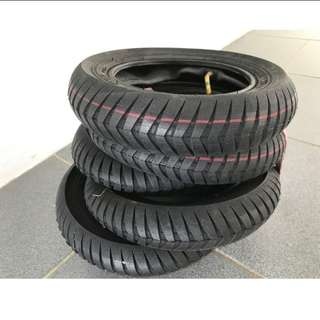 Super Ultra Grip 10x2.5 Tyre for scooter