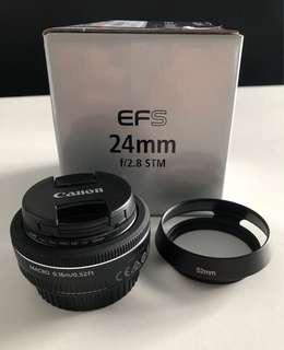 EF-S 24mm f/2.8 STM Pancake Lens