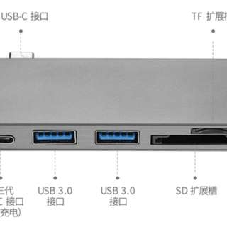 Macbook usb-c 轉換器