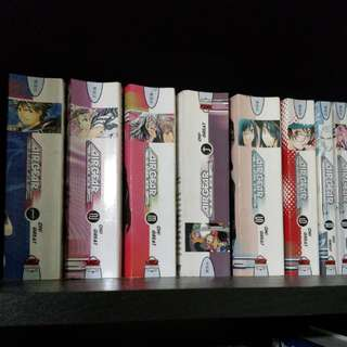 Air gear english vol 1 to 35 manga