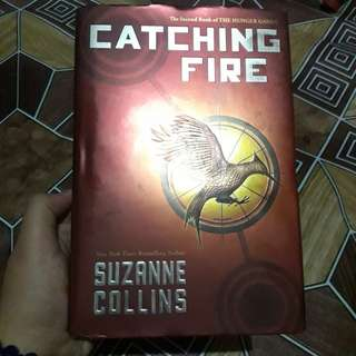 The Hunger Games Book 2: Catching Fire by Suzanne Collins