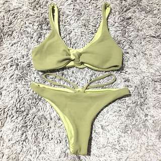 Ribbon with Strap Bikini