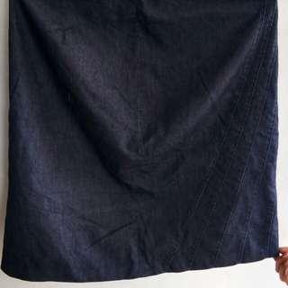 Mossimo lightweight denim skirt
