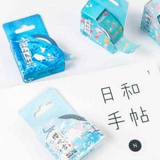 Japan Themed Washi Tape [restocked 19.02.2018!!]
