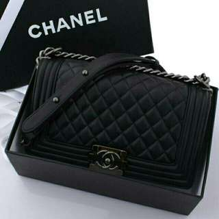 Chanel Boy Lambskin