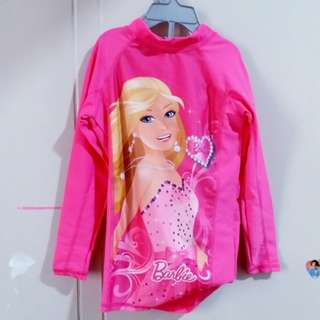 Barbie rash guard