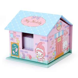 Japan Sanrio My Melody House Case Memo & Sticky Notes