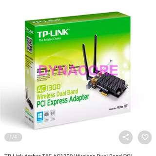 TP-Link Archer T6E AC1300 Wireless With 3yr wty