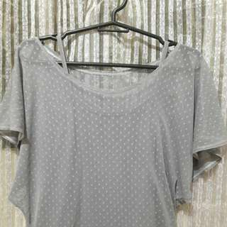 POLKA DOT BLOUSE preloved