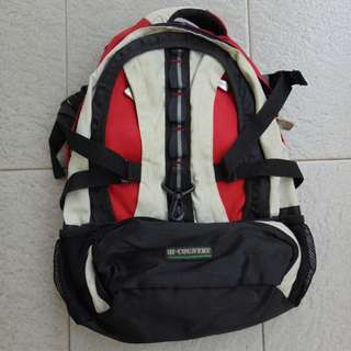 Red Backpack by HI COUNTRY