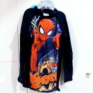 Spiderman rash guard