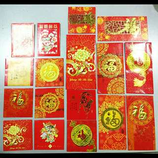 Vintage Public Bank angpau collection