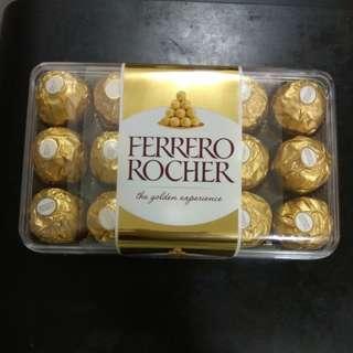 金莎朱古力禮盒30粒375g Ferrero Rocher