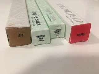 Colourpop Lippie Stix, UML & Ultra metallic Lip