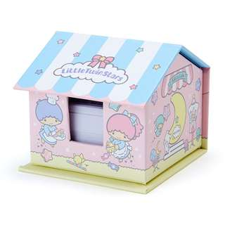 Japan Sanrio Little Twin Star's House Shaped Case Memo & Sticky Notes