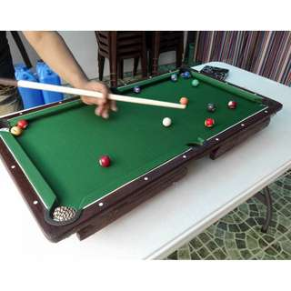 Mini Billard Table 18x32 inches