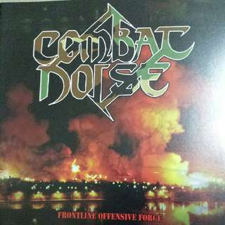 Music CD (Metal): Combat Noise–Frontline Offensive Force - Cuban Death Metal Band