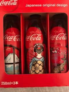 日本特別版可樂250ml x3